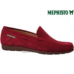 achat mephisto, ALGORAS, Rouge velours chez www.mephisto-chaussures.fr (70370)