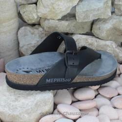 le pecq, NIELS, Noir cuir chez www.mephisto-chaussures.fr (7072)