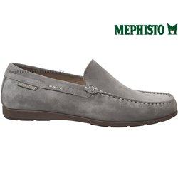 Mephisto ALGORAS Gris clair velours mocassin 70755