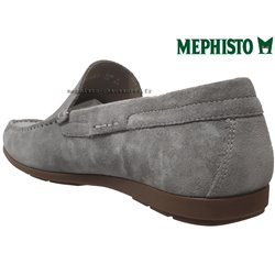 Mephisto ALGORAS Gris clair velours mocassin 70757
