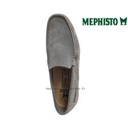 Mephisto ALGORAS Gris clair velours mocassin 70758