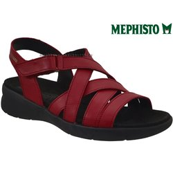 Mephisto Eliona Rouge cuir nu-pied