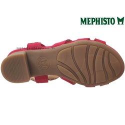 le pecq, Blanca, Rouge velours chez www.mephisto-chaussures.fr (70771)