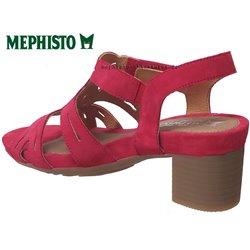le pecq, Blanca, Rouge velours chez www.mephisto-chaussures.fr (70772)