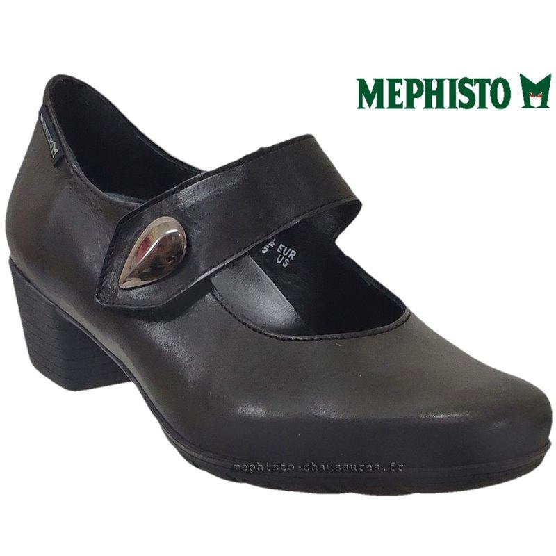 le pecq, Isora, Noir cuir, 39.3FR - EUR6 chez www.mephisto-chaussures.fr (71130)
