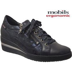 Mobils by Mephisto Patsy Marine cuir a_talon_derbies 71150