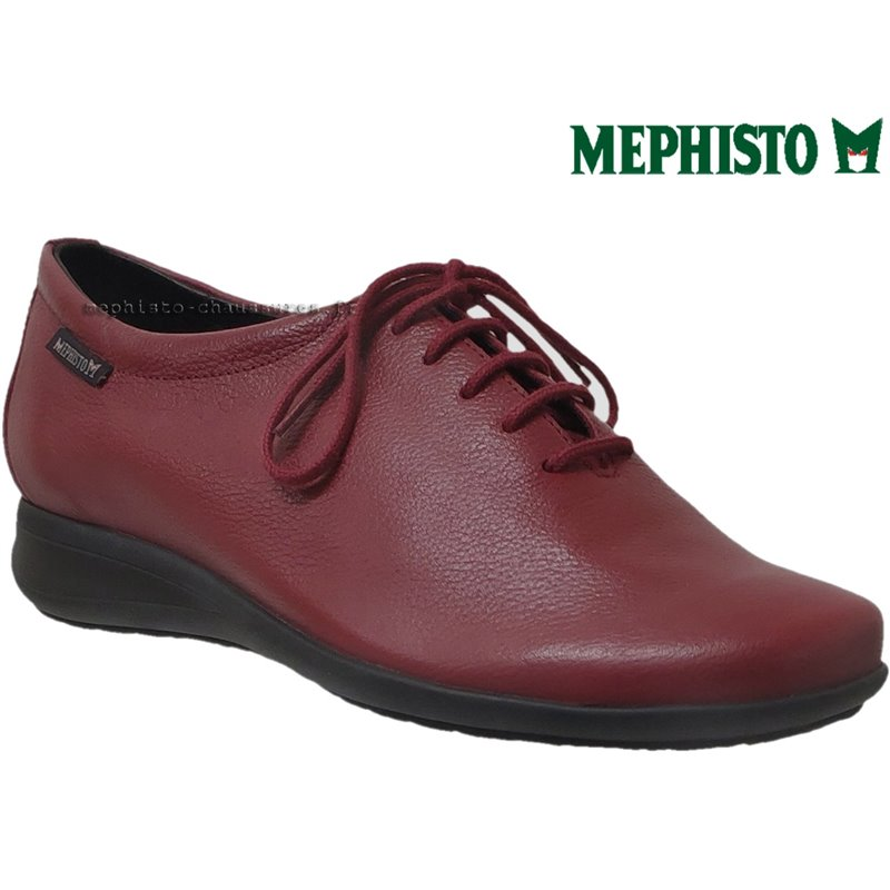 le pecq, Nency, Rouge cuir chez www.mephisto-chaussures.fr (71285)