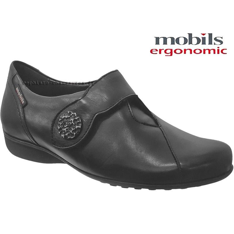 le pecq, Faustine, Noir cuir lisse chez www.mephisto-chaussures.fr (71300)