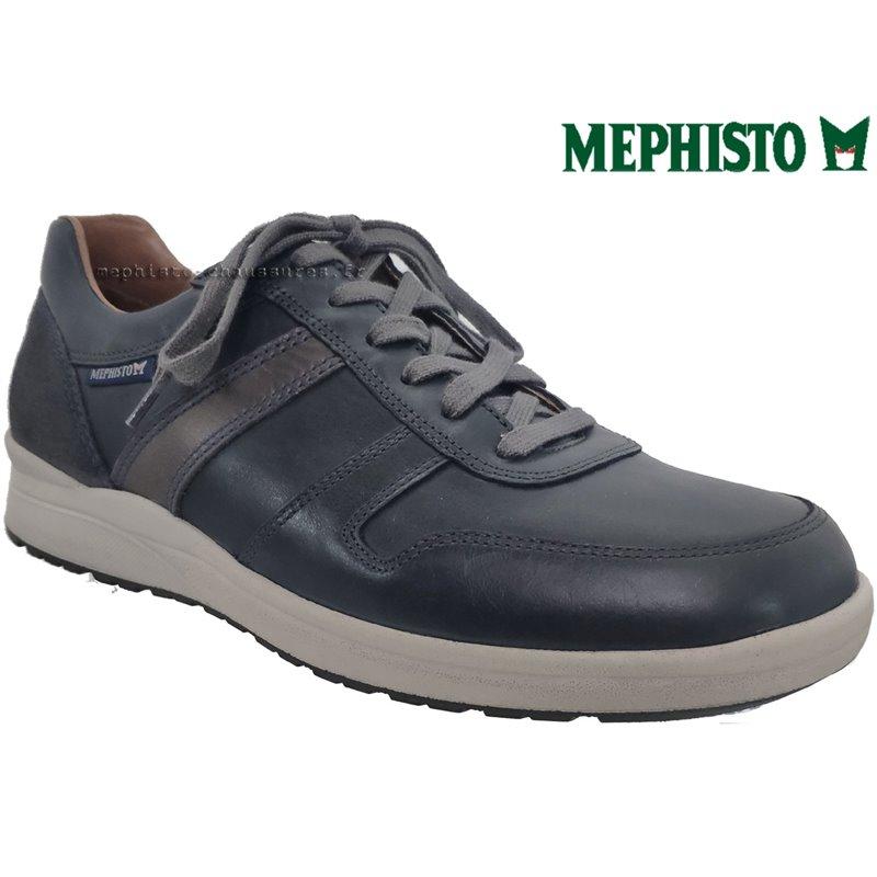 Mephisto Vito Marine cuir lacets_richelieu 71385