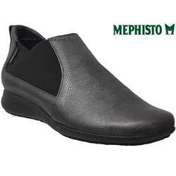 Mephisto Nellie Gris cuir mocassin 71390