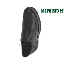 Mephisto Twain Noir cuir mocassin