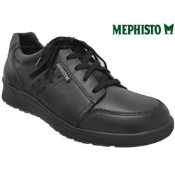 Mephisto Vincente Noir cuir lacets_derbies