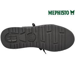 Mephisto Vincente Noir cuir lacets_derbies