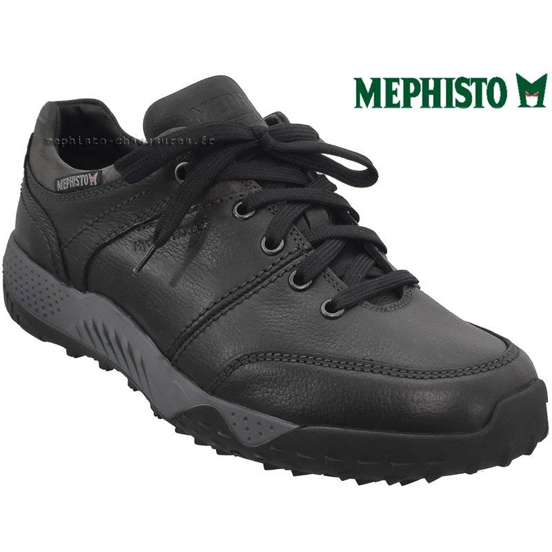 le pecq, Fabiano, Noir gris chez www.mephisto-chaussures.fr (71405)