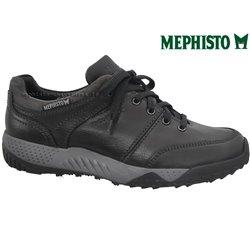 le pecq, Fabiano, Noir gris chez www.mephisto-chaussures.fr (71406)