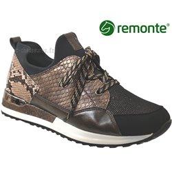 Remonte R2503 Marron/Doré basket_mode_basse