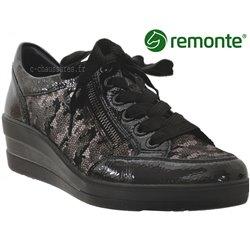 Remonte R7209 Noir brillant a_talon_derbies