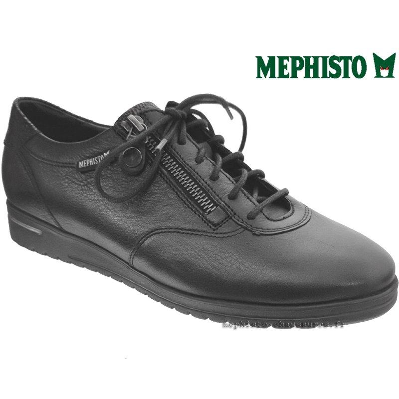 le pecq, Josy, Noir cuir chez www.mephisto-chaussures.fr (71985)