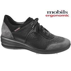 le pecq, Sidonia, Noir/Gris chez www.mephisto-chaussures.fr (72006)
