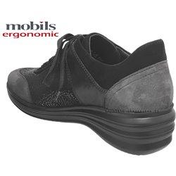 le pecq, Sidonia, Noir/Gris chez www.mephisto-chaussures.fr (72008)