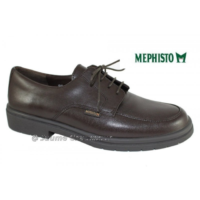 MEPHISTO Homme Lacet FRONTO Marron cuir 7217