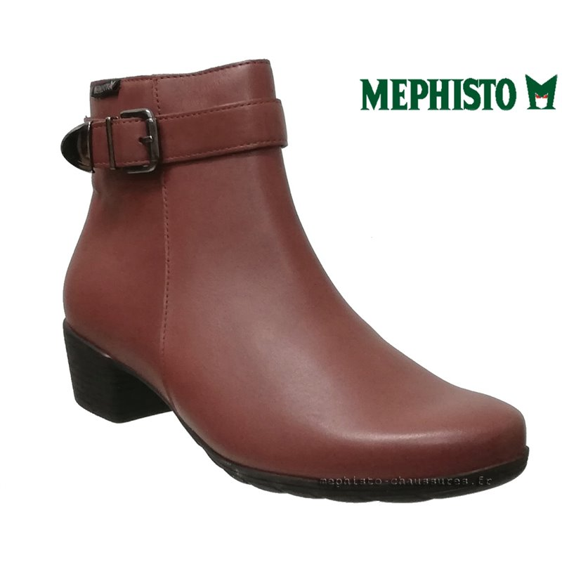 le pecq, Idalie, Rouge chez www.mephisto-chaussures.fr (72455)