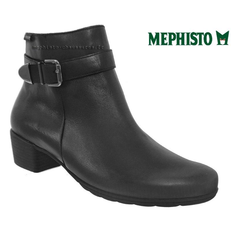 le pecq, Idalie, Noir cuir chez www.mephisto-chaussures.fr (72950)