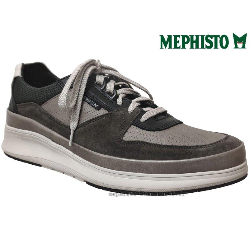 le pecq, Julien, Gris chez www.mephisto-chaussures.fr (73195)