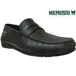 Mephisto ALYON Noir cuir mocassin 73915