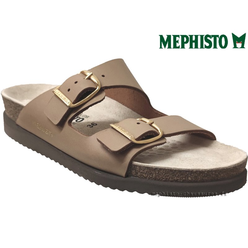 le pecq, HARMONY, Camel cuir chez www.mephisto-chaussures.fr (74554)