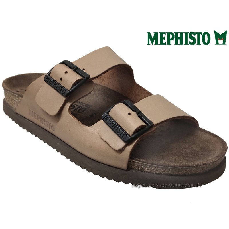 le pecq, NERIO, Camel cuir chez www.mephisto-chaussures.fr (74559)