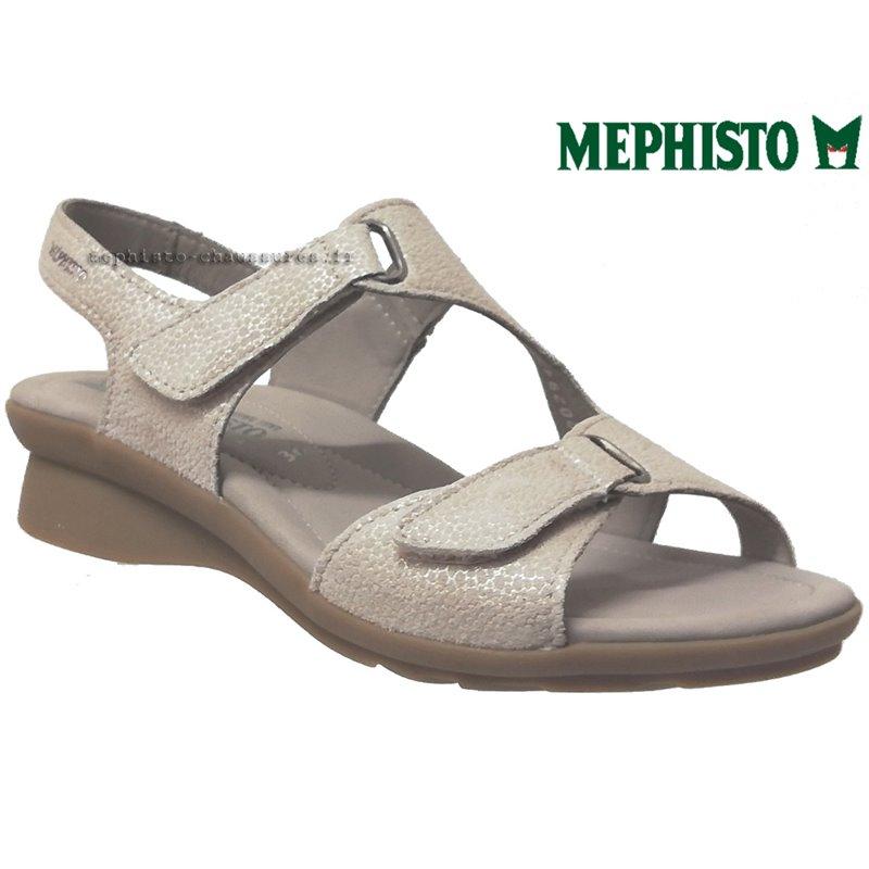 le pecq, PARIS, Beige/Platine chez www.mephisto-chaussures.fr (74889)