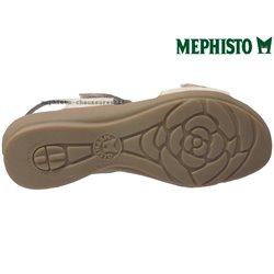 le pecq, PARIS, Beige/Platine chez www.mephisto-chaussures.fr (74891)