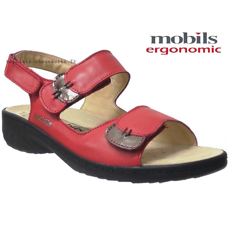 le pecq, Getha, Rouge chez www.mephisto-chaussures.fr (74904)