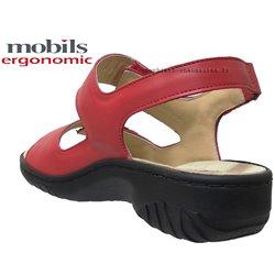 le pecq, Getha, Rouge chez www.mephisto-chaussures.fr (74907)