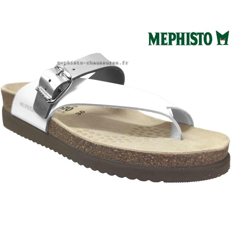 le pecq, Helen_mix, Blanc/Argent chez www.mephisto-chaussures.fr (75264)