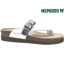 le pecq, Helen_mix, Blanc/Argent chez www.mephisto-chaussures.fr (75265)