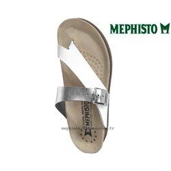 le pecq, Helen_mix, Blanc/Argent chez www.mephisto-chaussures.fr (75268)