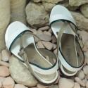 MEPHISTO Femme Sandale ZULIE Blanc verni 7608