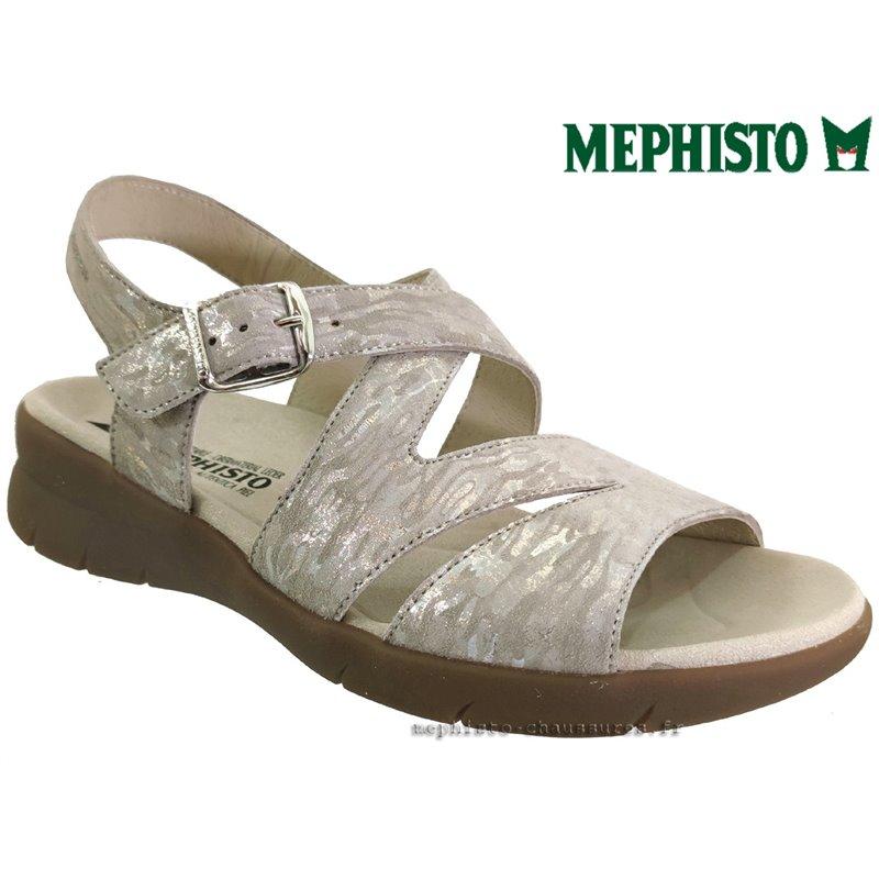 le pecq, Eva, Beige cuir chez www.mephisto-chaussures.fr (77558)