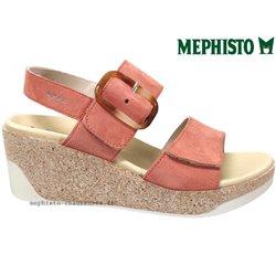 le pecq, Giulia, Rose velours chez www.mephisto-chaussures.fr (77569)