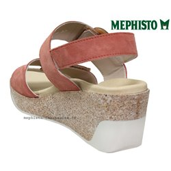 le pecq, Giulia, Rose velours chez www.mephisto-chaussures.fr (77571)
