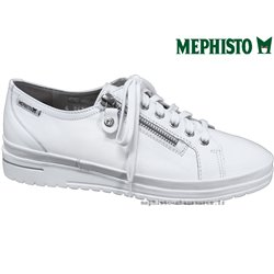 le pecq, June, Blanc cuir chez www.mephisto-chaussures.fr (77579)
