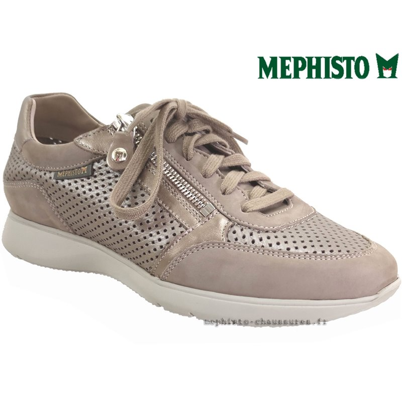 le pecq, Molly, Taupe cuir chez www.mephisto-chaussures.fr (77583)