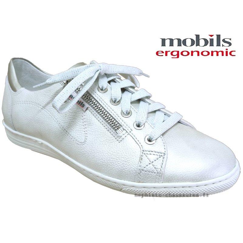 le pecq, HAWAI, Blanc cassé cuir chez www.mephisto-chaussures.fr (77588)