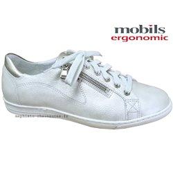 le pecq, HAWAI, Blanc cassé cuir chez www.mephisto-chaussures.fr (77589)