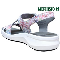 Mephisto Tiara Blanc Multicouleur sandale 80100