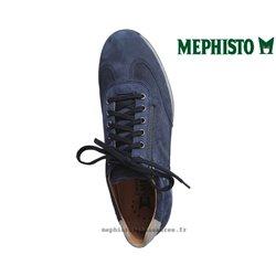 Mephisto Leon Marine nubuck lacets_richelieu