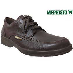 Mephisto Chaussures Mephisto JANEIRO Marron graine cuir lacets