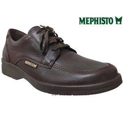 mephisto-chaussures.fr livre à Gravelines Mephisto JANEIRO Marron graine cuir lacets